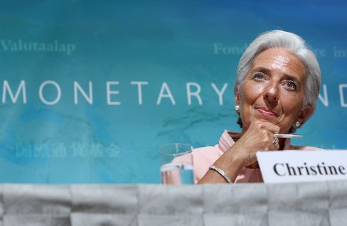 IMF Managing director Lagarde