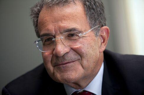 Former Head of the European Commission Romano Prodi