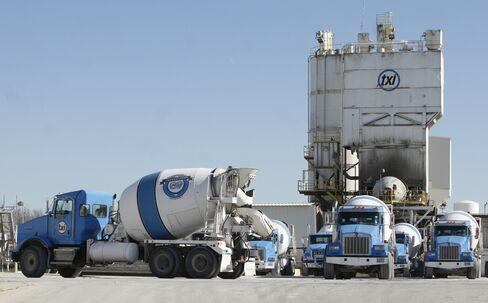 Texas Industries Cement Trucks