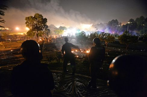 Protests in Islamabad
