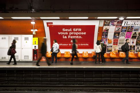 Vivendi CEO Investor Meeting Said to Focus on SFR Cost Cuts