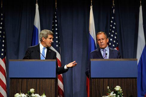 Lavrov Brings Acerbic Pragmatism to Kerry Meeting on Syria