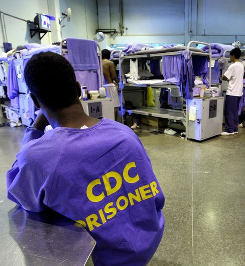 California runs the nation's largest correctional system, with about 161,000 inmates. The U.S. Supreme Court, citing overcrowding and inadequate health care, ordered the state to reduce the prison population by 33,000 in two years. Photo: Justin Sullivan/Getty Images