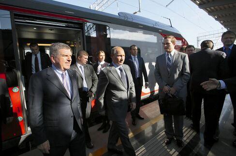 President Vladimir Putin in Sochi