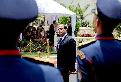 Egypt's President Abdel-Fattah El-Sisi