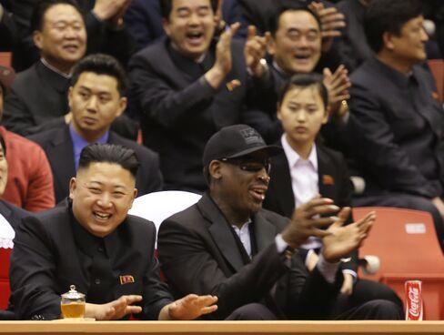 Dennis Rodman's Visit to Pyongyang