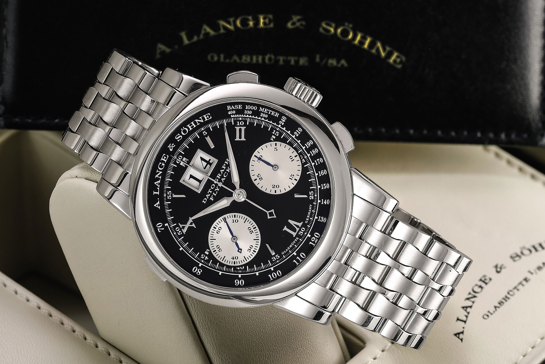 A. Lange & Söhne Datograph With Bracelet (Lot 113)