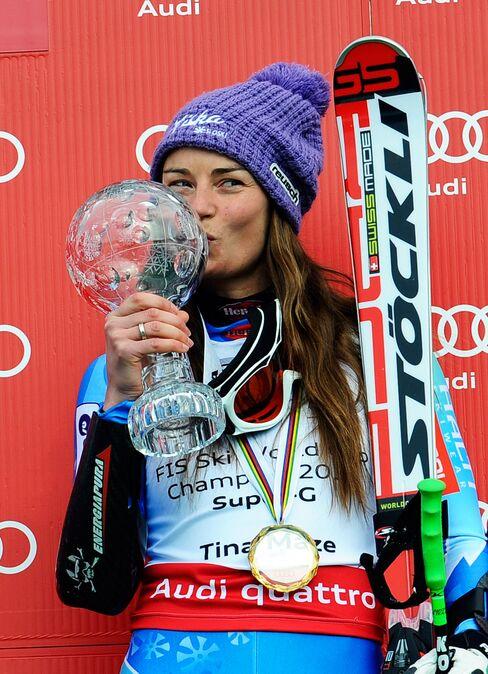 Slovenia Skier Tina Maze