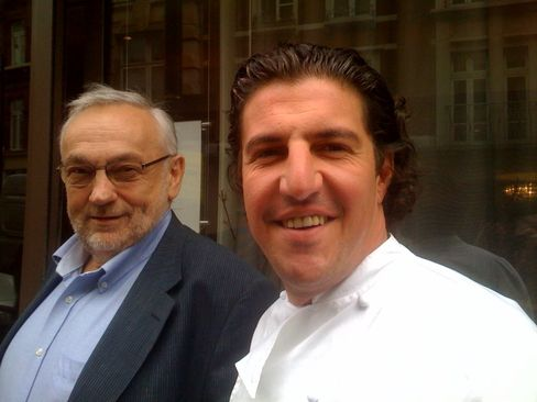Pierre Koffmann and Claude Bosi