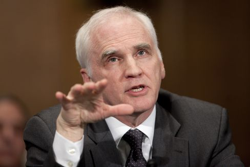 Daniel Tarullo, governor of the Federal Reserve. Photographer: Andrew Harrer/Bloomberg