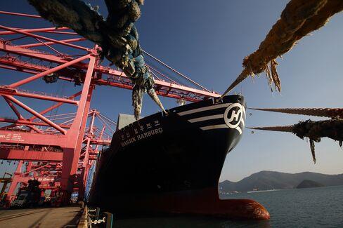 Hanjin Shipping Busan New Port