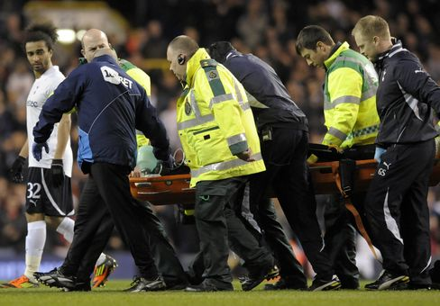 Bolton's Muamba 'Critical' After Collapsing During Game