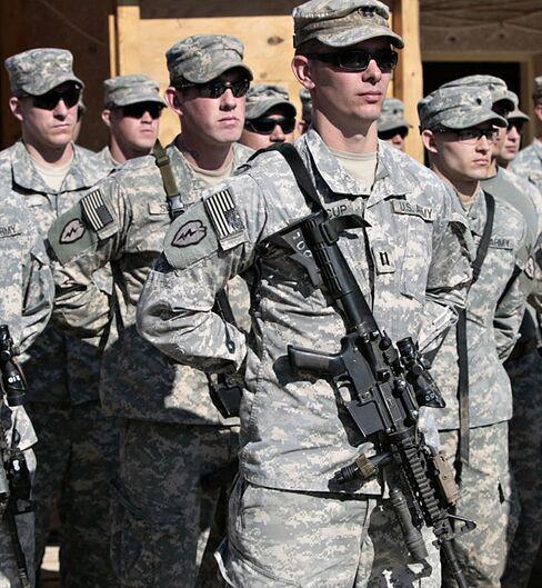 U.S. Military Troops