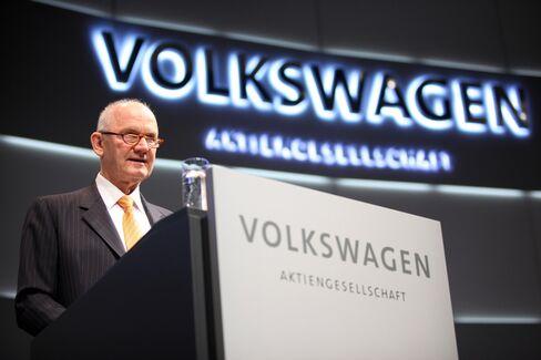 Volkswagen AG Chairman Ferdinand Piech