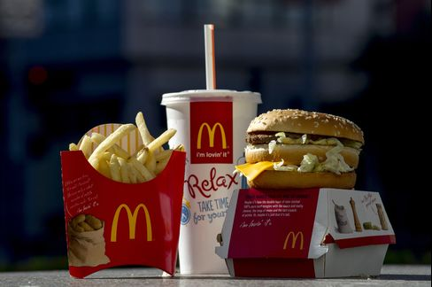 McDonald's Corp. Sales Rise 0.9% in May