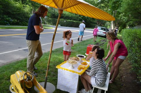 Ella and Pippa's Lemonade Stand