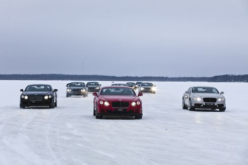 Bentley's Power on Ice in Ruka Peak.