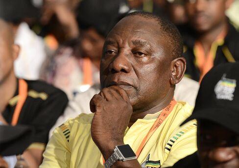 Tycoon Cyril Ramaphosa
