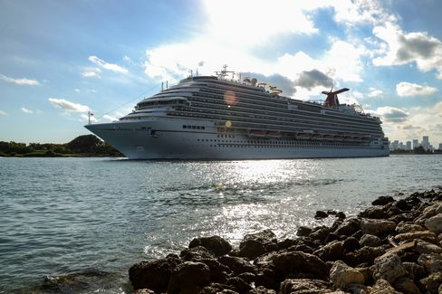 Carnival Corp. Cruise Ship at Port of Miami