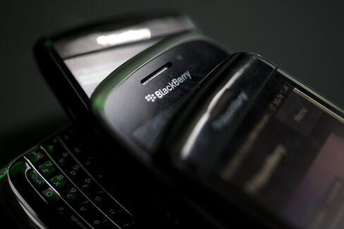 BlackBerry Losses