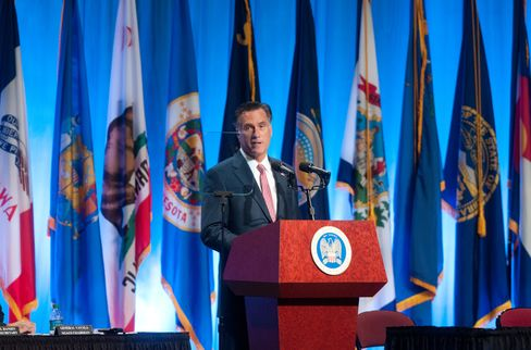 Romney Pledges Strong U.S. Military in Pushback Against Obama