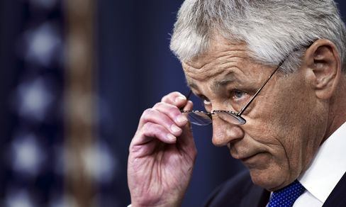 Hagel Vows Pentagon Role in Combating Iran's 'Malign Influence'
