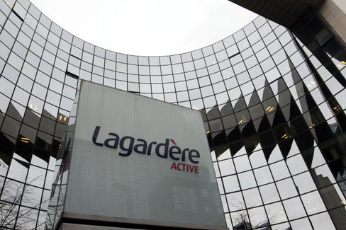 Lagardere Sees EU900 Million Losses