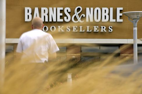 Barnes & Noble Shares Suffering as Microsoft Bloom Fades
