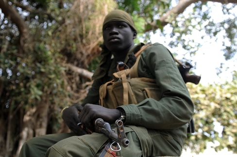 Sudan People's Liberation Army Solider