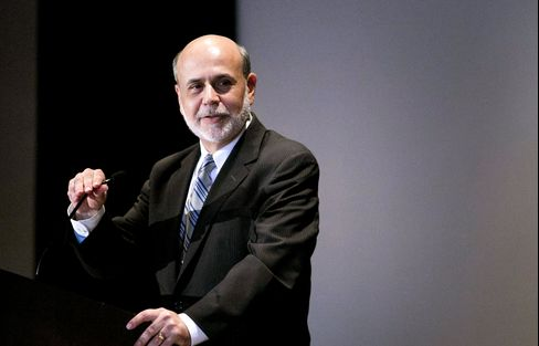 S&P 500 Rallies to Record Close as Bernanke Pledges Stimulus