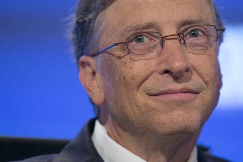 Microsoft Corp. co-founder Bill Gates