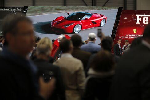 Ferrari Sees Japan as Growth Market as China, Europe Sales Slump