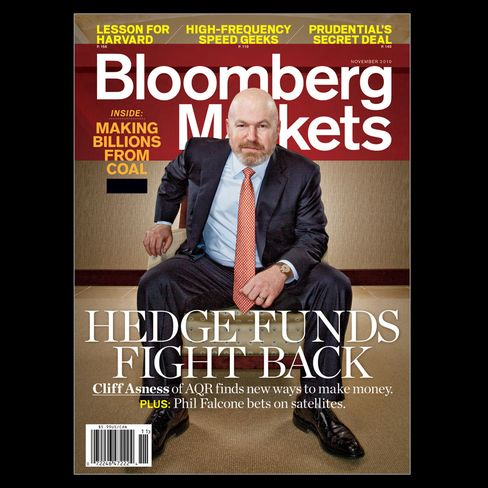 The cover of the November 2010 issue of Bloomberg Markets