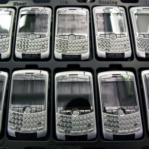 BlackBerry Challenges May Spread
