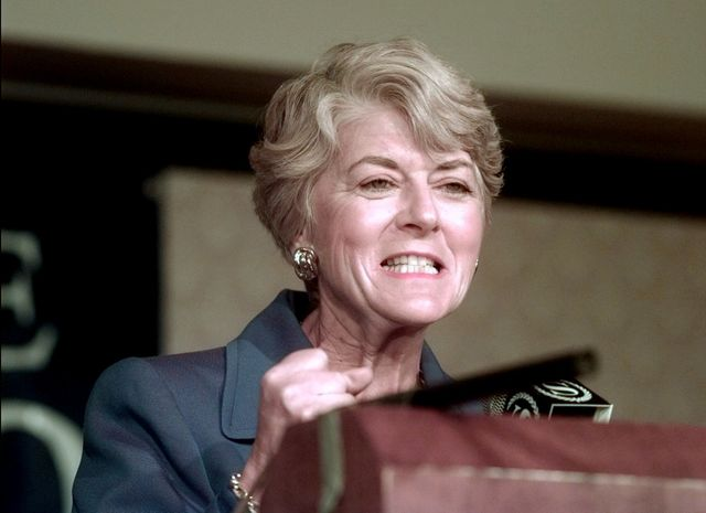 A new documentary traces Geraldine Ferraro's legacy for women in politics. Photographer: Bill Turnbull/NY Daily News Archive via Getty Images