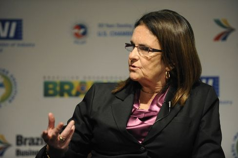 Petrobras Chief Executive Officer Maria das Gracas Foster