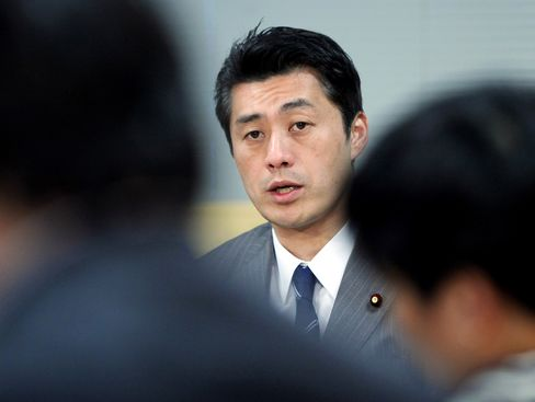 Japanese Opposition Party Leader Goshi Hosono