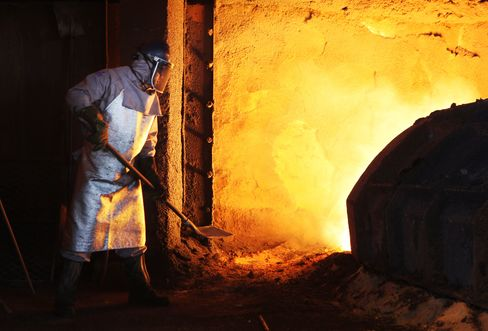 Brazil Industrial Output Falls the Most Since December 2008