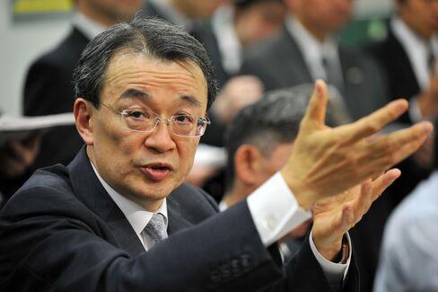 Mizuho Financial Group CEO Takashi Tsukamoto,