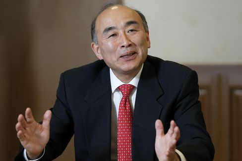 Japan's Vice-Finance Minister for International Affairs