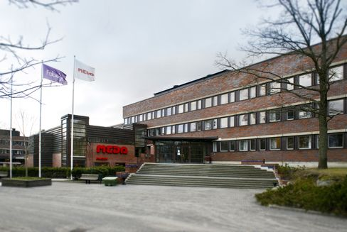The Meda AB Company Headquarters Stand in Solna