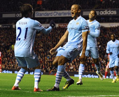 Manchester City Ties 1-1 Against Liverpool in Premier League