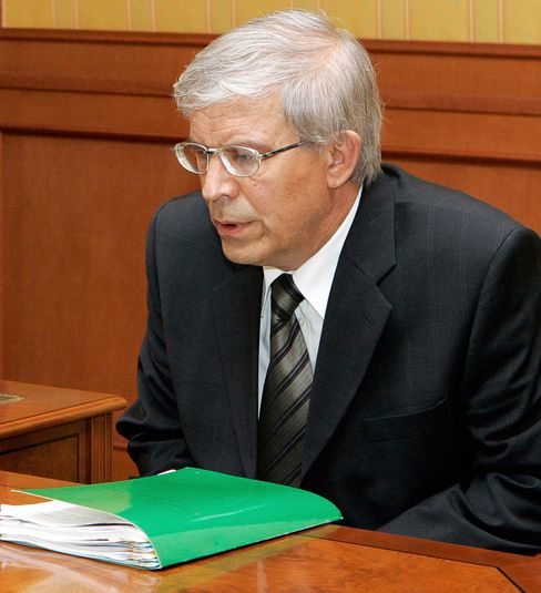 Bank Rossii Chairman Serbei Ignatiev