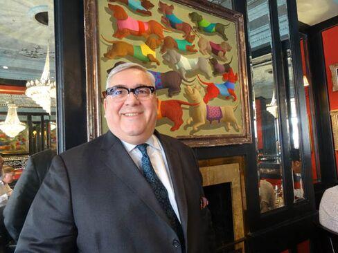Brian Clivaz at L'Escargot, London