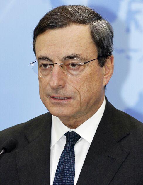 FSB Chairman Mario Draghi