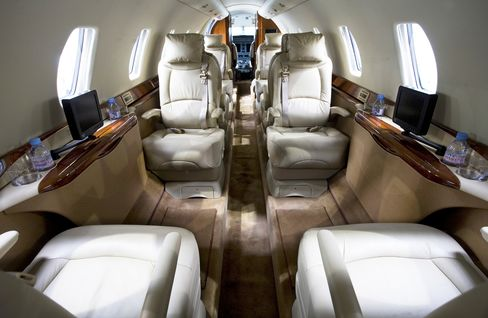 Corporate Jets Often First Thing to Go