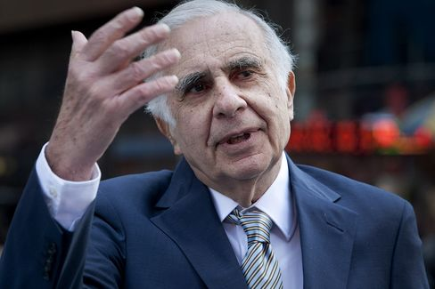 Icahn Bondholders Charge Premium After Gains