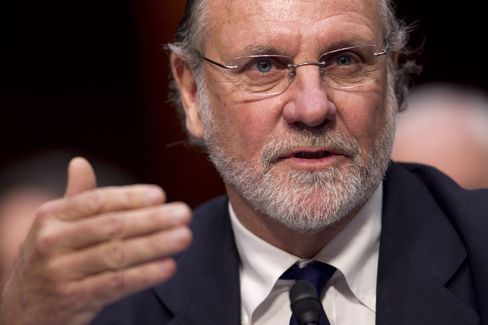Former MF Global Chairman Jon Corzine