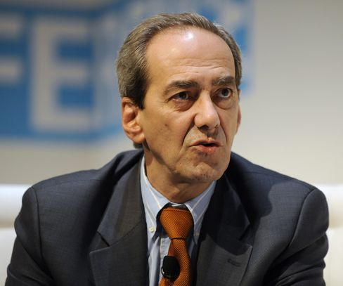 Former ECB Executive Board Member Jose Manuel Gonzalez-Paramo