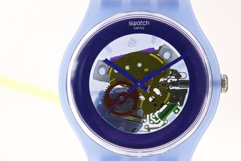 Swatch Attracts Attention to Own Timepieces Amid IWatch Talk